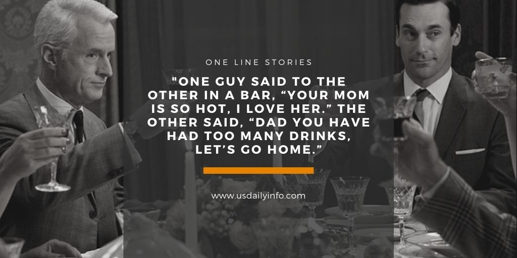 One Line Stories